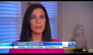 Jacksonville Attorney Janet Johnson interviewed on ABC News