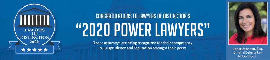 Janet Johnson 2020 Power Lawyers